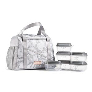 Handbags - Fit & Fresh - Kerry Althlectic Bag -Gray Marble